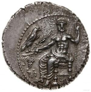 stater, 361-334 pne; Aw: Baaltars siedzący na tronie w ...
