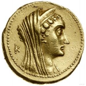 oktodrachma, 180-116 pne, mennica Aleksandria; Aw: Głow...