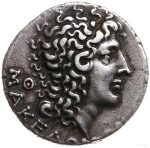 tetradrachma, 93-92 pne, mennica Tessaloniki; Aw: Głowa...
