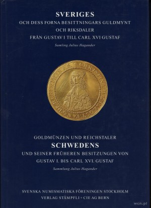 Julius Hagander, Goldmünzen und Reichstaler Schwedens u...