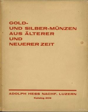 Adolph Hess Nachf., Gold-und Silber-Münzen aus Älterer ...