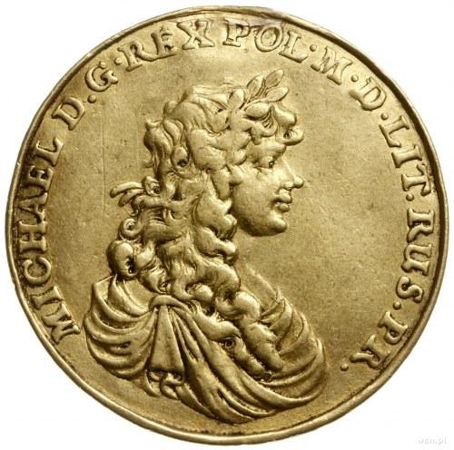 medal zaślubinowy wagi 4 dukatów, bez daty (1670), auto...
