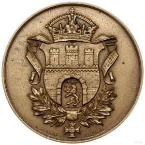 medal poświęcony Jerzemu Bajanowi, 1934, Warszawa, proj...