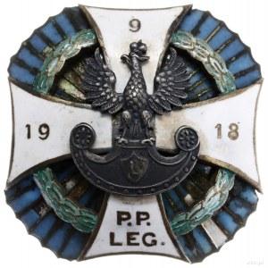 oficerska odznaka pamiątkowa 9. Pułku Piechoty Legionów...