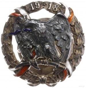 pamiątkowa odznaka oficerska 15. Pułku Ułanów Wielkopol...