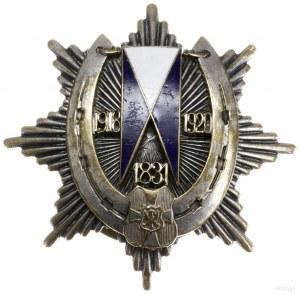 żołnierska odznaka pamiątkowa 19. pułku Ułanów Wołyński...
