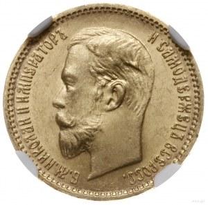 5 rubli 1903 AP, Petersburg; Bitkin 30, Fr. 180, Kazako...