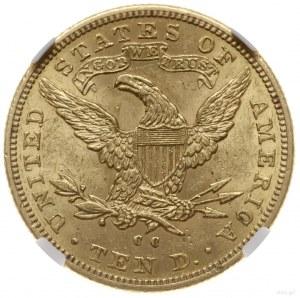 10 dolarów 1891/CC, Carson City; typ Liberty Head; Fr. ...