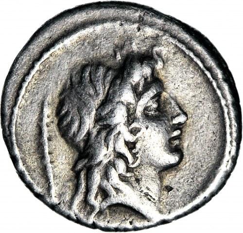 Republika Rzymska, M. Plaetorius M. f. Cestianus 69 pne, Denar