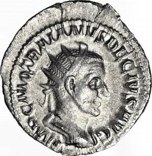 Cesarstwo Rzymskie, Trajan Decjusz 249-251 ne, Pannoniae, Antoninian, PIĘKNY