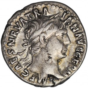 Cesarstwo Rzymskie, Trajan (August 98-117 ne), Denar