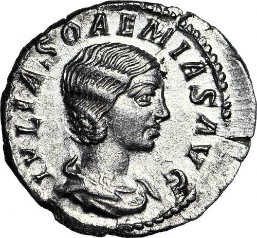 Cesarstwo Rzymskie, Julia Soemia 218-222 ne , Wenus, Denar, PIĘKNY I RZADKI