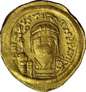 Cesarstwo Bizantyjskie, Justyn II 565-578 AD, Solidus, Konstantynopol