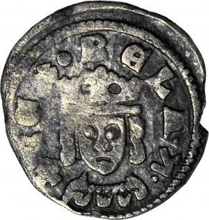 Węgry, Bela IV Wielki 1235-1270, Denar, Głowa/Orzeł