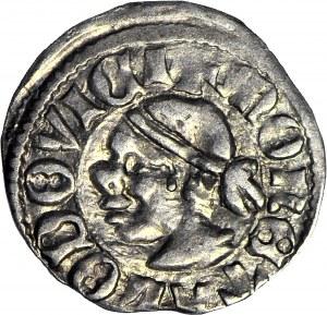 Ludwik Węgierski (Andegaweński) 1370-1382, Denar Saracen