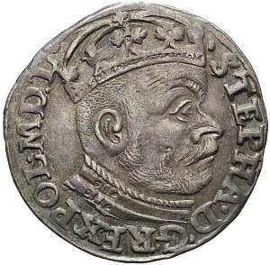 Stefan Batory, Trojak 1583 Olkusz, ładny