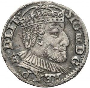 Zygmunt III Waza, Trojak 1590, Olkusz