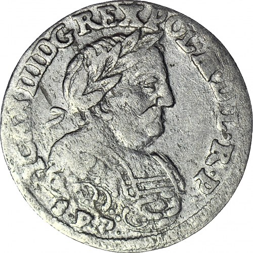 R-, Jan III Sobieski, Szóstak 1684 SVP