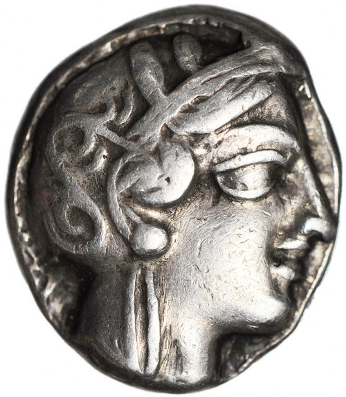 Grecja, Ateny, Tetradrachma, około V wieku p.n.e.