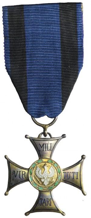 ORDERY I ODZNAKI, Rzeczpospolita Polska na Emigracji, Krzyż srebrny Orderu Virtuti Militari, (V klasa), Spink & Son Ltd, Londyn