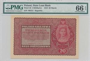 20 marek 1919, II Serja DV