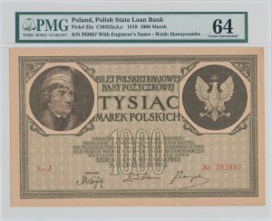1.000 marek polskich 1919 - Ser. J