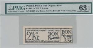 2 korony 1918, Bon na cele patriotyczne, Całość - Niepodległość