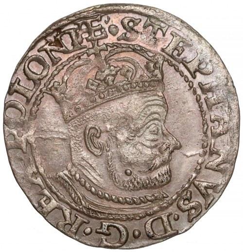 Stefan Batory, Grosz Olkusz 1579 - duża głowa - PIĘKNY i rzadki