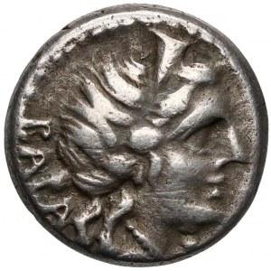 Republika, C. Allius Bala (92pne) Denar