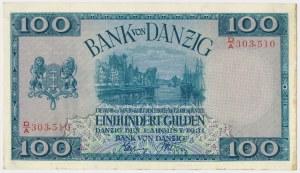 Gdańsk, 100 guldenów 1931 - D/A