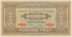 50.000 mkp 1922 - G