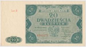 20 złotych 1947 - Ser.B
