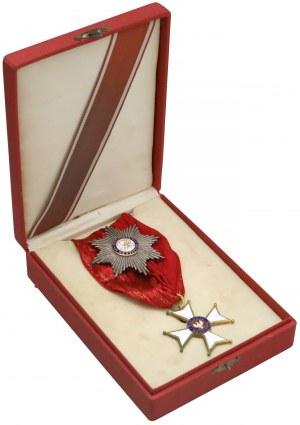 Krzyż Komandorski z Gwiazdą Orderu Odrodzenia Polski (II klasa)