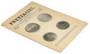 Medale na pamiątkę połączenia się... Prus Zachodnich z Polską [Przyjaciel Dzieci i Młodzieży], Poznań 1872