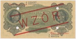 10.000 mkp 1922 - WZÓR - A 1234567 8901234
