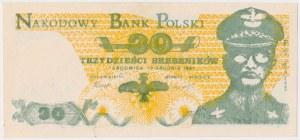Solidarność, 30 srebrników 1981 Targowica/Jaruzelski