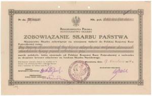 Zobowiązanie Skarbu Państwa 1924