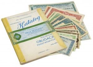 Moczydłowski, Katalog 1918-1959 i zestaw papierów MIX