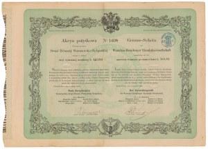 Towarzystwo Drogi Żelaznej Warszawsko-Bydgoskiej, Akcja pożytkowa 1864