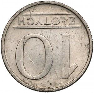 Destrukt 10 złotych 1984 - odwrotka