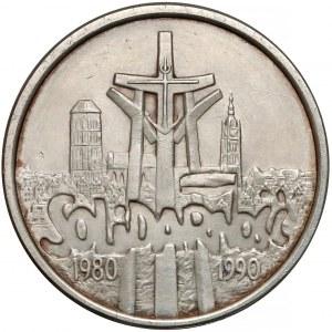 100.000 złotych 1990 Solidarność - odm. B