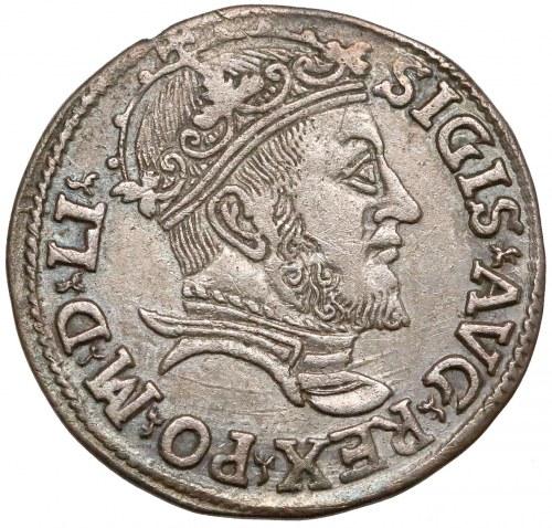 Zygmunt II August, Trojak Wilno 1547 - bardzo rzadki