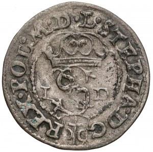 Stefan Batory, Szeląg Olkusz 1585 ID - GH - Hose