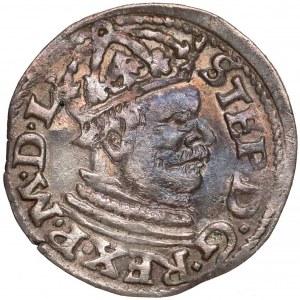 Stefan Batory, Trojak Poznań 1585 - mała głowa