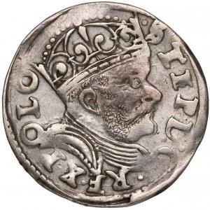 Stefan Batory, Trojak Poznań 1585 - duża głowa