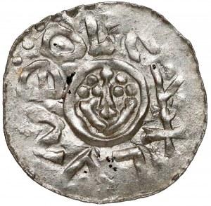 Bolesław III Krzywousty, Denar Wrocław (przed 1107) - głowy - piękny