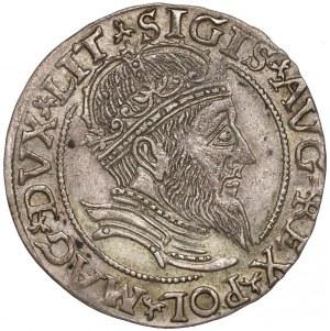 Zygmunt II August, Grosz na stopę litewską 1559 - LITV - ŁADNY