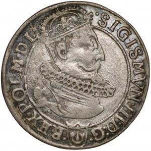Zygmunt III Waza, Szóstak Kraków 1623 - data przy VI
