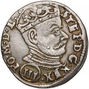 Stefan Batory, Trojak Wilno 1580 - (III)
