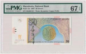 Macedonia, 50 denari 2007